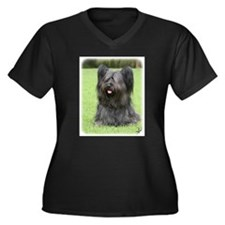 Skye Terrier 9Y766D-031 Women's Plus Size V-Neck D