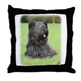 Skye Terrier 9Y766D-039 Throw Pillow