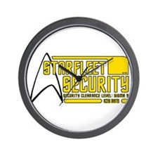 Starfleet Security Wall Clock