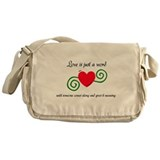Just a Word Messenger Bag
