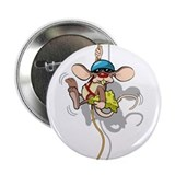 "Climbing Rat 2.25"" Button"