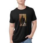 Lincoln / Basset Hound Organic Kids T-Shirt (dark)