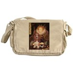 Queen & Basset Messenger Bag