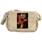 The Lady & her Beagle Messenger Bag