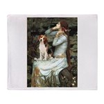 Ophelia & Beagle Throw Blanket