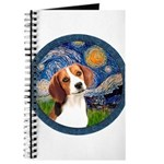 Starry Night Beagle #1 Journal
