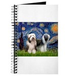 Starry / 2 Bearded Collies Journal