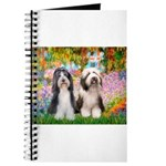 Garden / 2 Bearded Collie Journal