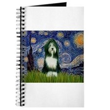 Starry Night /Bearded Collie Journal