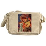 Angel / Bedlington T Messenger Bag
