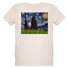 Starry Night /Belgian Sheepdog T-Shirt