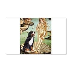 Venus and Bernese 22x14 Wall Peel
