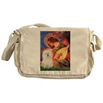 Mandolin Angel & Bolognese Messenger Bag