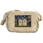 Starry Night / 2 Bolognese Messenger Bag