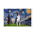 Starry Night Boston (#2) 20x12 Wall Decal