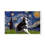 Starry Night Boston Ter 20x12 Wall Decal
