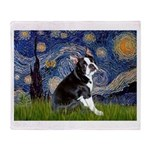 Starry Night Boston Ter Throw Blanket