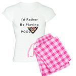 rather play pool Women's Light Pajamas