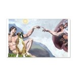 Creation of the Boxer 20x12 Wall Decal