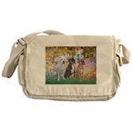 Garden / 3 Boxers Messenger Bag