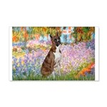 Garden & Boxer 20x12 Wall Decal