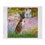Garden & Boxer Throw Blanket