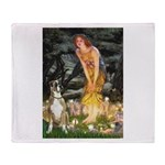 Fairies & Boxer Throw Blanket