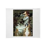 Ophelia & Boxer Throw Blanket