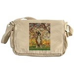 Spring with a Boxer Messenger Bag