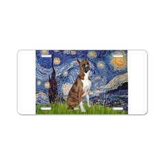 Starry / Boxer Aluminum License Plate