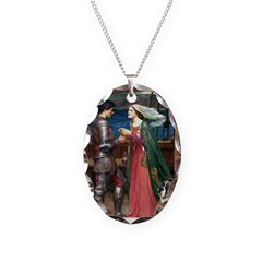 Knight & Boxer Necklace Oval Charm
