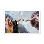 Creation / Briard 20x12 Wall Decal