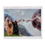 Creation / Briard Throw Blanket