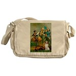 Spirit/Brittany Spaniel Messenger Bag