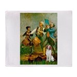 Spirit/Brittany Spaniel Throw Blanket