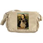 Mona /Bullmastiff Messenger Bag