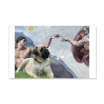 Creation / Bullmastiff 20x12 Wall Decal