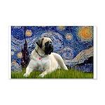 Starry / Bullmastiff 20x12 Wall Decal