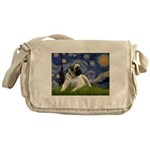 Starry / Bullmastiff Messenger Bag
