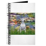 Lilies2-Bull Terrier (P) Journal