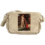 The Accolade Bull Terrier Messenger Bag