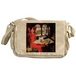 Lady (S) - Cairn Terrier 4 Messenger Bag