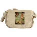Venus / Cairn Terrier Messenger Bag