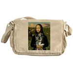 Mona's Catahoula Leopard Messenger Bag