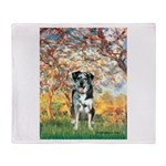 Spring / Catahoula Leopard Dog Throw Blanket