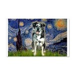 Starry / Catahoula Leopard Dog 20x12 Wall Decal
