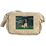 Lilies (5) & Tri Cavalier Messenger Bag