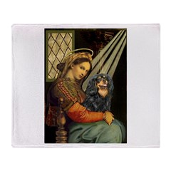 Madonna & Cavalier (BT) Throw Blanket