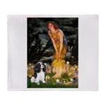 Fairies / Cavalier Throw Blanket