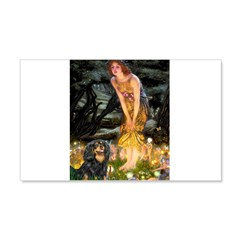 Fairies & Cavalier (BT) 20x12 Wall Decal